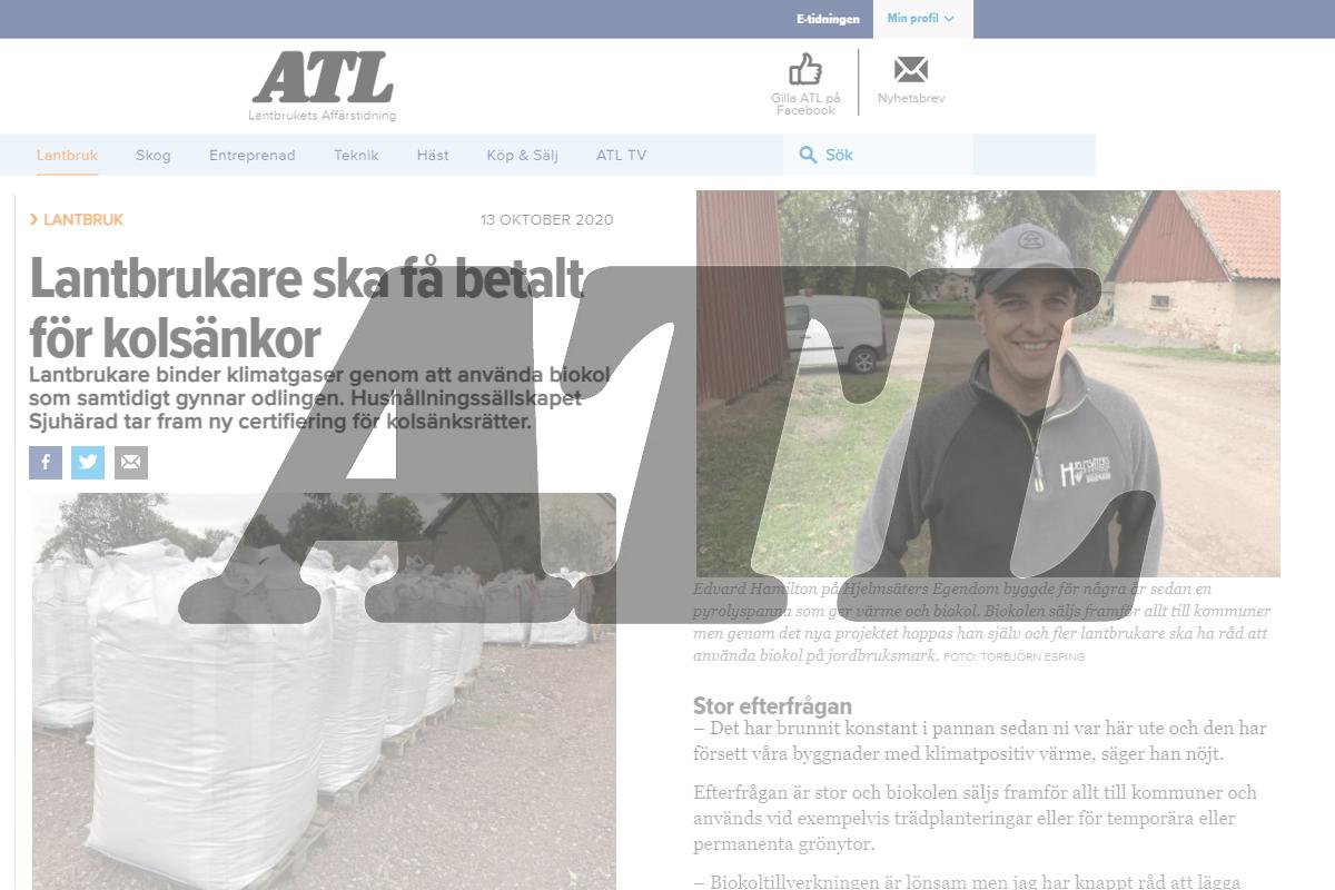 Reportage: ATL - Lantbruk | Biokol.se