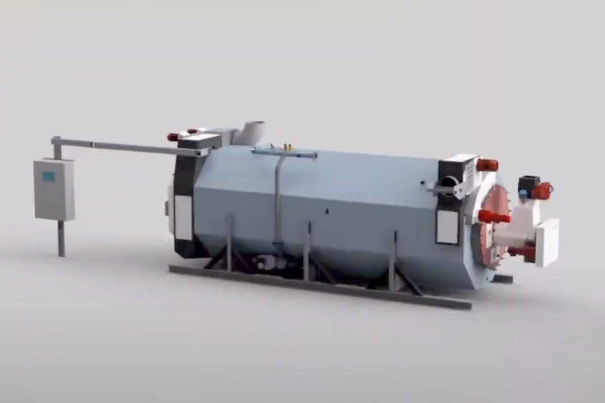 Biomacon - DECARBO: 40 kW upp till 400 kW // Biokolspanna - Pyrolyspanna | biokol.se